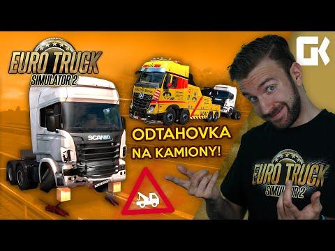 ODTAHOVKA NA KAMIONY! | Euro Truck Simulator 2 Mod