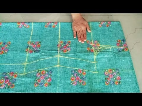 Suit/Kameez Cutting Very Easy Method Step by Step/Simple Suit Cutting