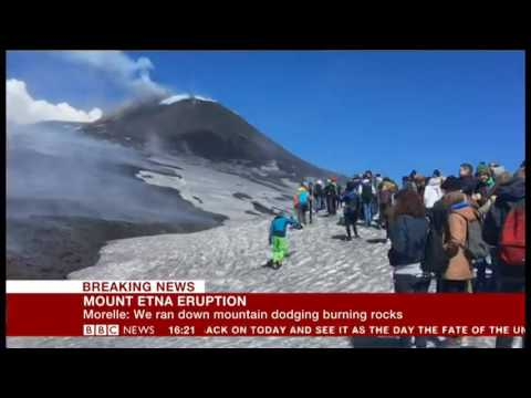 Etna Explosion Caught By BBC Crew, Francesca Marchese's Live Comment Mp3