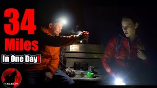 34 Miles - Overnight Hiking Adventure