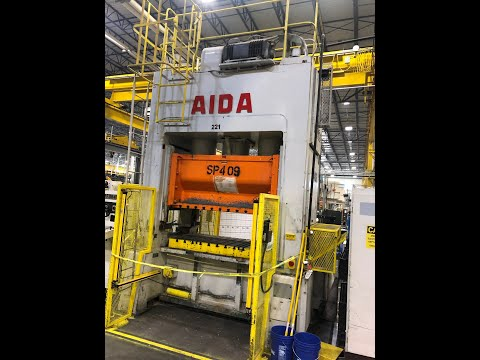 200 ton Aida PDA-20M Straight Side Press