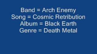 Arch Enemy - Cosmic Retribution