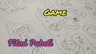 Filmi Paheli Game | Couple Kitty Party Game | Paper Game | Written Game | 📝musti