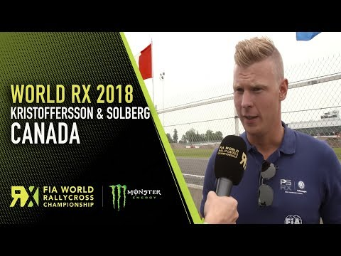 Johan Kristoffersson and Petter Solberg Look Ahead to GP3R | 2018 World Rallycross of Canada