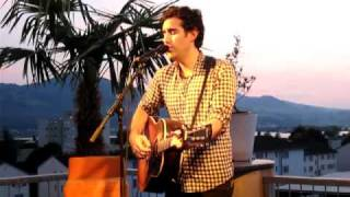 Joshua Radin - One of those days @ Skylite, Rapperswil 19.08.2010