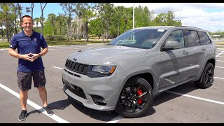Is The 2020 Jeep Grand Cherokee SRT The BETTER Buy Than The Trackhawk?