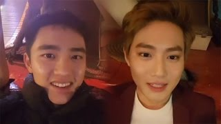 Download Video [EXO] D.O.&SUHO were riding a pirate ship a year ago: highlight MP3 3GP MP4