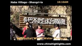 Video : China : Hiking along the Tiger Leaping Gorge trail - video