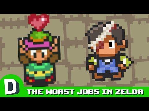 Nejhorší zaměstnání ve světě Zeldy