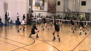 Lindsey Lawmaster - Libero - TCA HB Black VS Wave - 2011