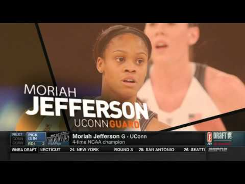 Moriah Jefferson Is Selected by the San Antonio Stars!