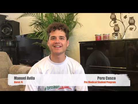 Volunteer Peru Cusco Review Manuel Avila Pre medical Program