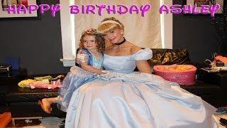 Cinderella Live At Ashleys 4th Birthday Party