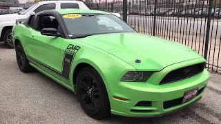 2013 Ford Mustang Chicago, Matteson, Oak Lawn, Orland Park, Countryside IL P10181A