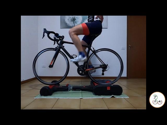 Видео Велотренажер роллерный Elite Quick Motion Trainer