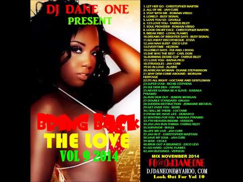 DJ DANE ONE BRING BACK THE LOVE VOL 09 ((SEPTEMBER 2014))