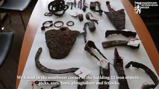 Tools and adornments reveal life in Sostra during Antiquity