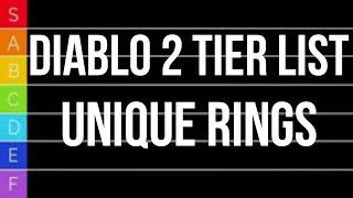 Diablo 2 TIER LIST - Unique Rings
