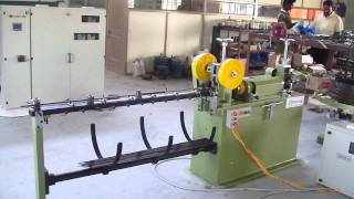 Wire strightening and cutting of 2mm wire