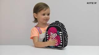 """Рюкзак детский Kite Kids Smart Fox K20-538XXS-1 ( 2-4 года) от компании Интернет-магазин """"Радуга"""" - школьные рюкзаки, канцтовары, творчество - видео"""