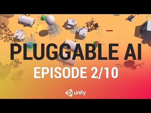 Finite State AI with the Delegate Pattern - Unity