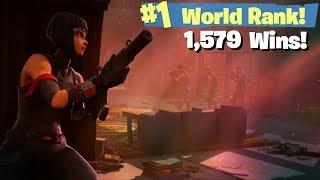#1 World Ranked - 1579 Solo Wins - Sponsor Goal 751/800