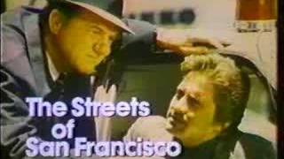 """ABC Show Promo Slide """"The Streets Of San Francisco"""" 1973"""