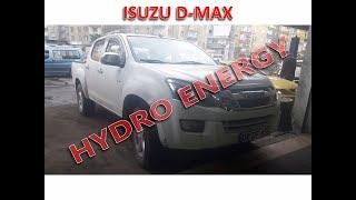 İsuzu D-Max hidrojen yakıt tasarruf sistem montajı