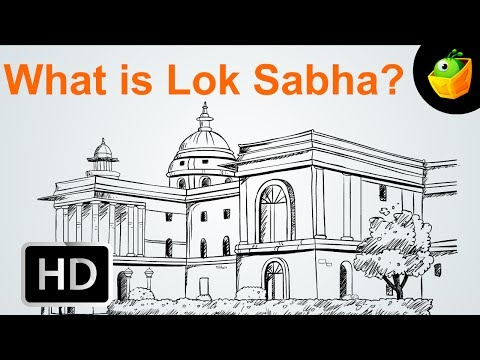 What Is Lok Sabha -  Election - Cartoon/Animated Video For Kids