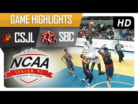SBC vs CSJL | Game Highlights | NCAA 92 - June 25, 2016