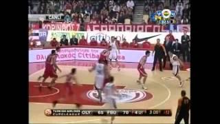 Jasikevicius bombayı gönderdi Olympiakos maçı