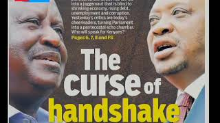 The curse of handshake | PRESS REVIEW