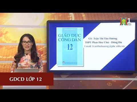 MÔN GDCD - LỚP 12 | PHÁP LUẬT VỚI SỰ PT BỀN VỮNG CỦA ĐẤT NƯỚC | 16H00 NGÀY 21.04.2020 | HANOITV