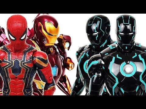 Iron Man, Spider-Man, Avengers Go~! Hulk, Captain America, Gwen, Miles Morales, Superman, Batman
