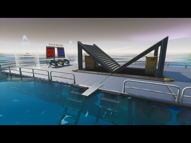 Combat de constructions sur l'eau