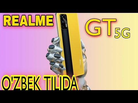 REALME GT 5G -O'ZBEK TILIDA /ARZON SUPER FLAGMAN  NARXIGAARZIYDIMI