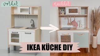 IKEA Spielküche Makeover DIY l Ich gestalte die Spielküche um! l Kisu IKEA HACK