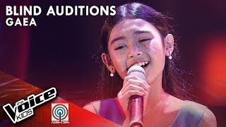 Gaea Salipot - Ngayon at Kailanman | Blind Auditions | The Voice Kids Philippines Season 4