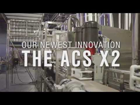 ACS X2: Automated Canning System X2 (75+ CPM) Can filler sold by Cask Brewing Systems