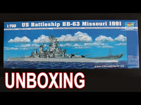 Trumpeter 1//700 05705 US Battleship BB-63 Missouri 1991