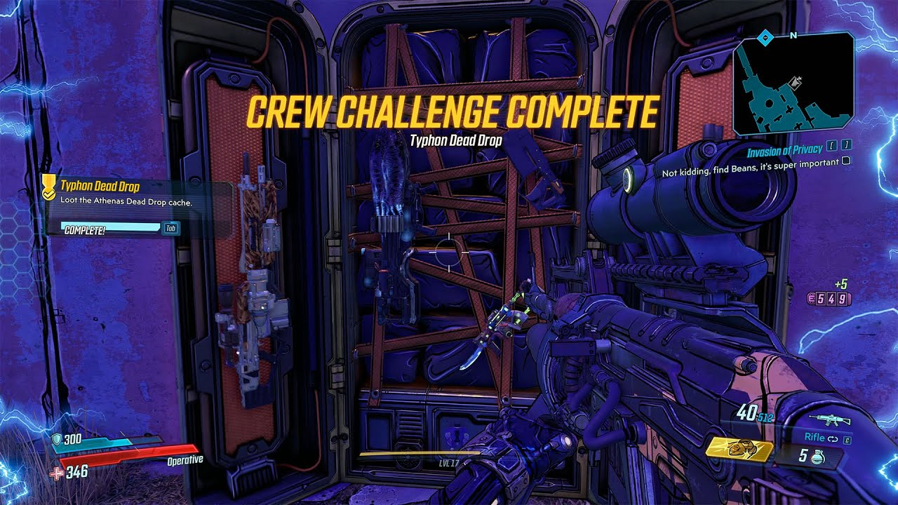 Video Athenas - Typhon Dead Drop cache Crew Challenge