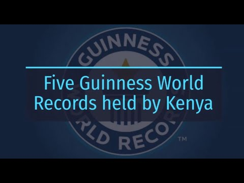 Five Guinness World Records held by Kenya