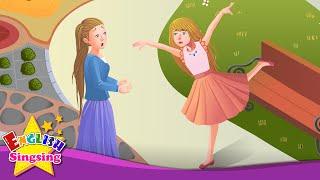 The Red Shoes - Bạn đang làm gì? - câu chuyện tiếng Anh cho trẻ em