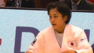 JudoマロイUSAvs出口クリスタ女子57kg級準決勝柔道グランドスラム東京2013.11.29