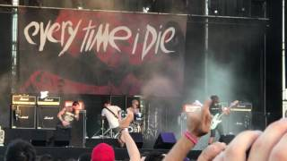 Every Time I Die - Roman Holiday + Glitches ( Download Festival Madrid 2017 )