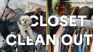 VLOG: 2020 MAJOR CLOSET CLEAN OUT  || GETTING ORGANIZED || HOME GOODS FINDS