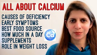 Calcium Deficiency | Early Symptoms | How much you Need | Best Veg Food Sources | Supplements
