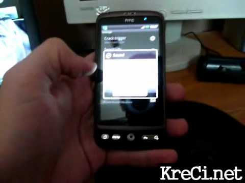 Video of Cracked Screen Prank