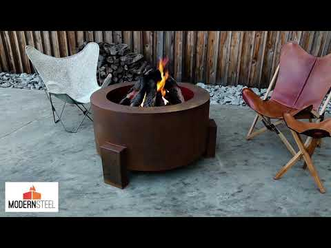 Sere Fia Wood Burning Fire Pit