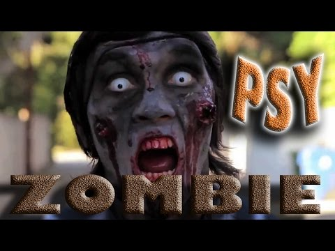 ZOMBIE -PSY -Elvis Presley And More!!! Gangnam-Style/Elvis Presley Hound Dog (HD)